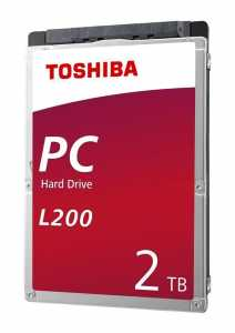 "Dysk Toshiba L200 Mobile 2TB 2,5"" SATA 5400rpm 128MB BOX"